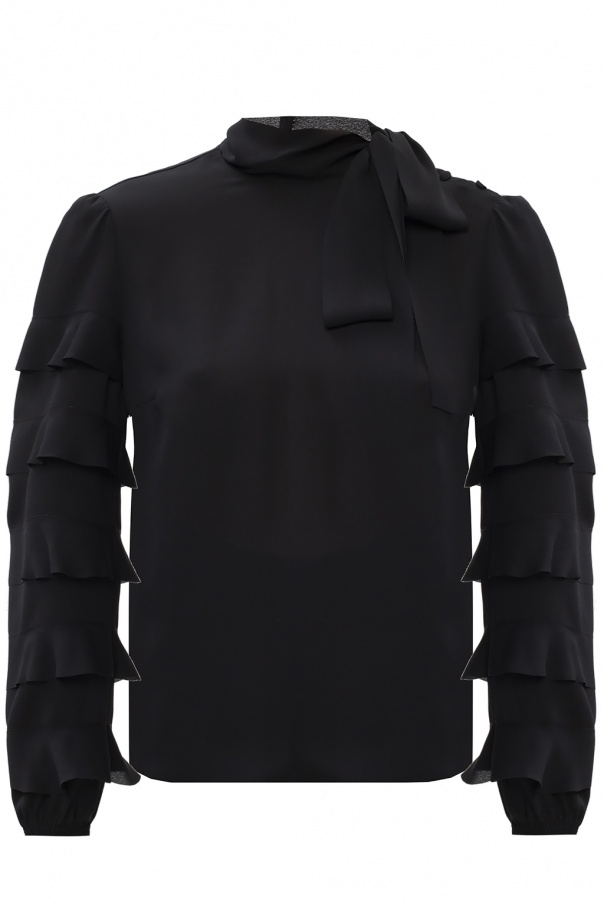 Red Valentino Band collar top