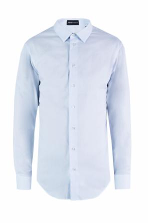 Embroidered pattern shirt od Emporio Armani