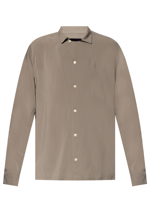 AllSaints 'Venice' shirt with logo