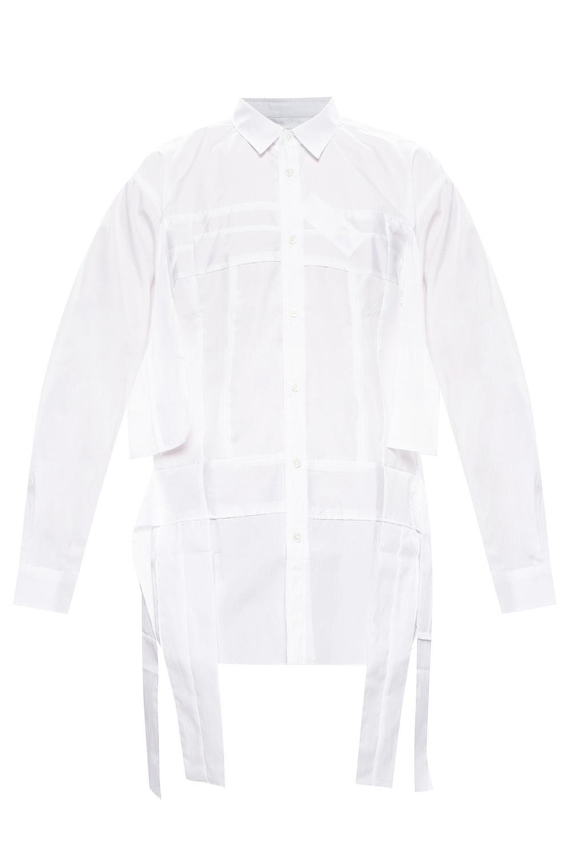 Comme des Garcons Shirt 饰结衬衫
