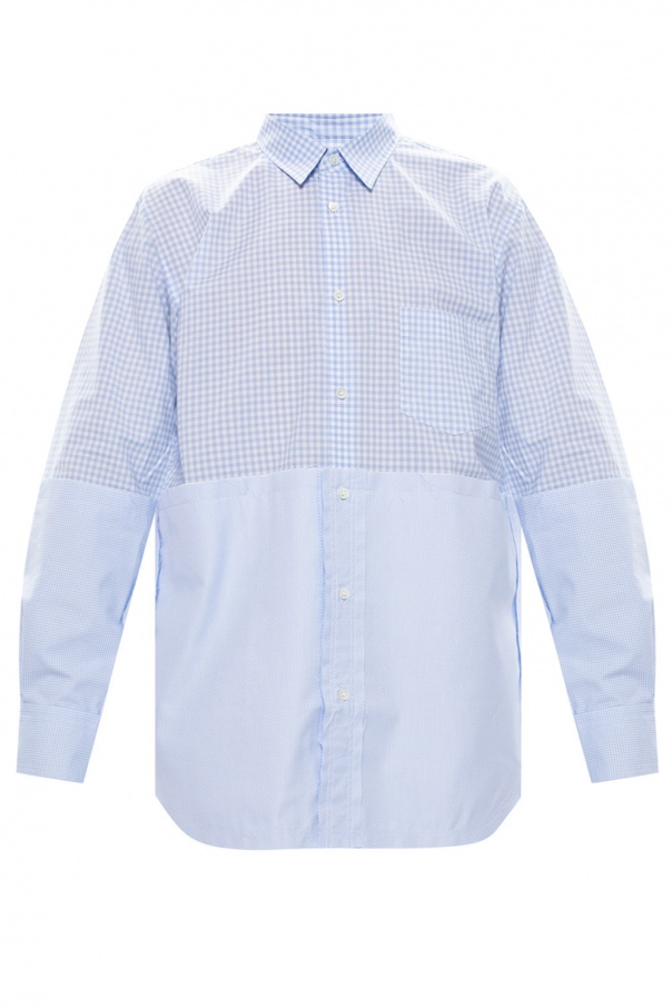 Comme des Garcons Shirt 毛边饰衬衫