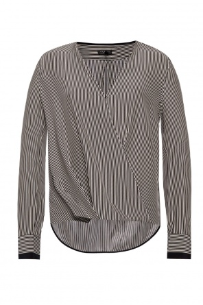 Striped silk top od Rag & Bone