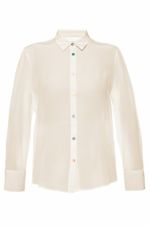 Shirt with decorative buttons od PS Paul Smith