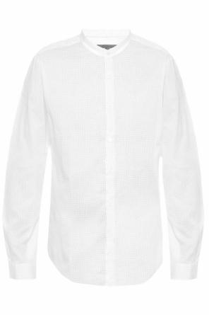 Band collar shirt od John Varvatos