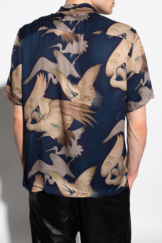 AllSaints 'Wader' patterned shirt