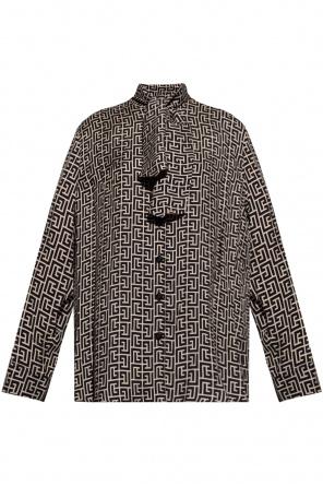 Embroidered shirt od Balmain