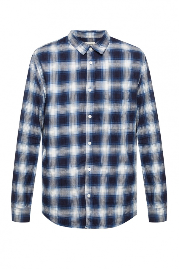Check shirt od Zadig & Voltaire