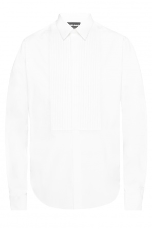 Pleated bib shirt od Giorgio Armani