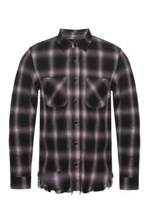 Raw edge shirt od Amiri