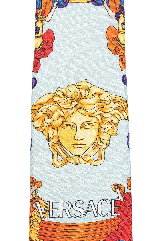 Versace Renaissance-printed tie