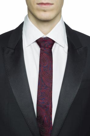 Patterned silk tie od Etro