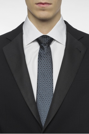 Patterned tie od Lanvin