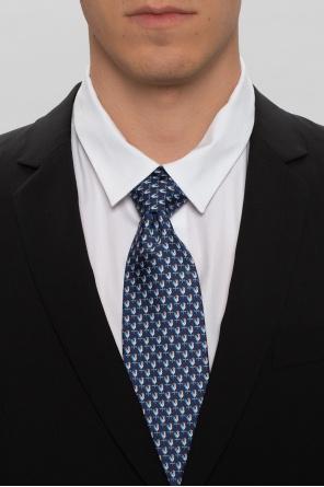 Patterned silk tie od Salvatore Ferragamo