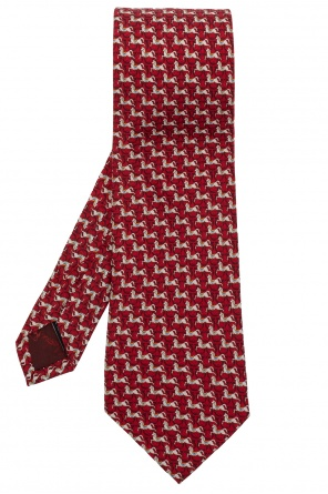 Silk tie od Salvatore Ferragamo