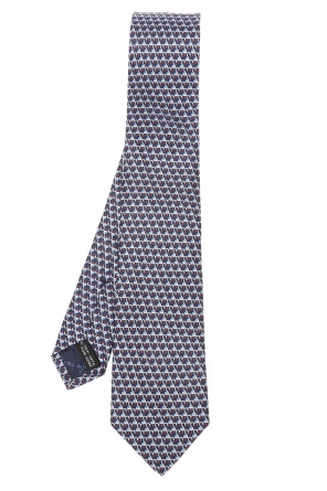 Animal motif tie od Salvatore Ferragamo