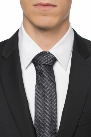 Logo-embroidered tie od Salvatore Ferragamo