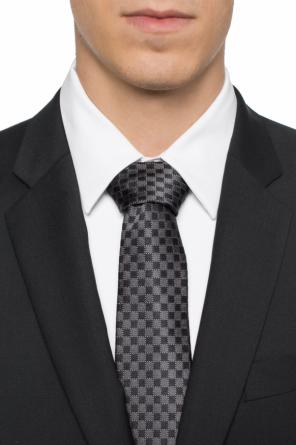 Checkered tie od Salvatore Ferragamo
