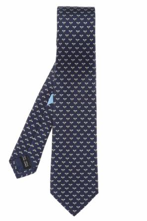 Patterned silk tie od Salvatore Ferragamo
