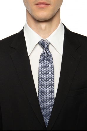 Patterned tie od Salvatore Ferragamo