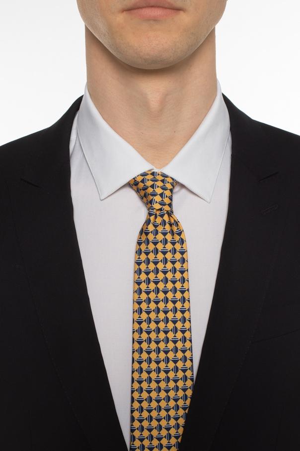 Jedwabny krawat od Giorgio Armani