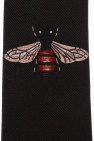 Gucci Embroidered bee tie