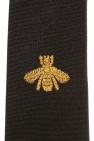 Gucci Bee motif tie