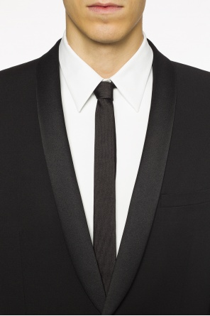 Embroidered tie od Saint Laurent Paris