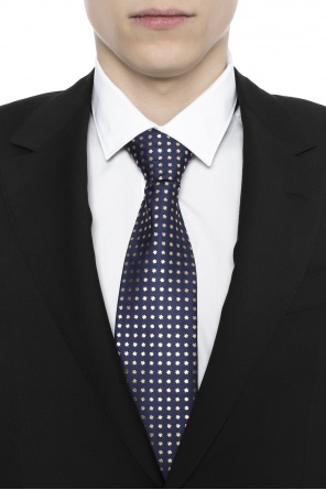 Star-patterned tie od Gucci