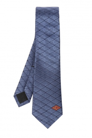 Tie with a 'gucci game' motif od Gucci