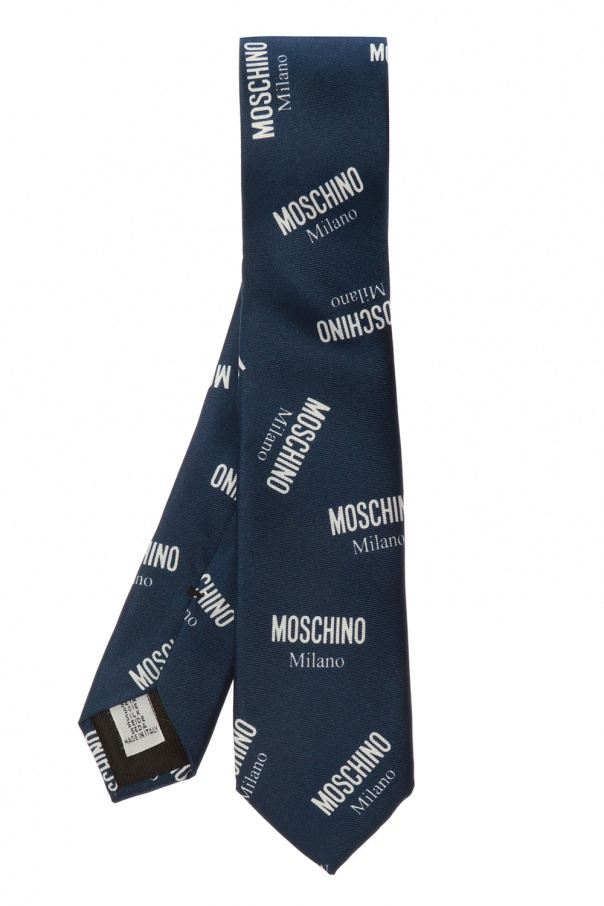 Moschino Printed tie