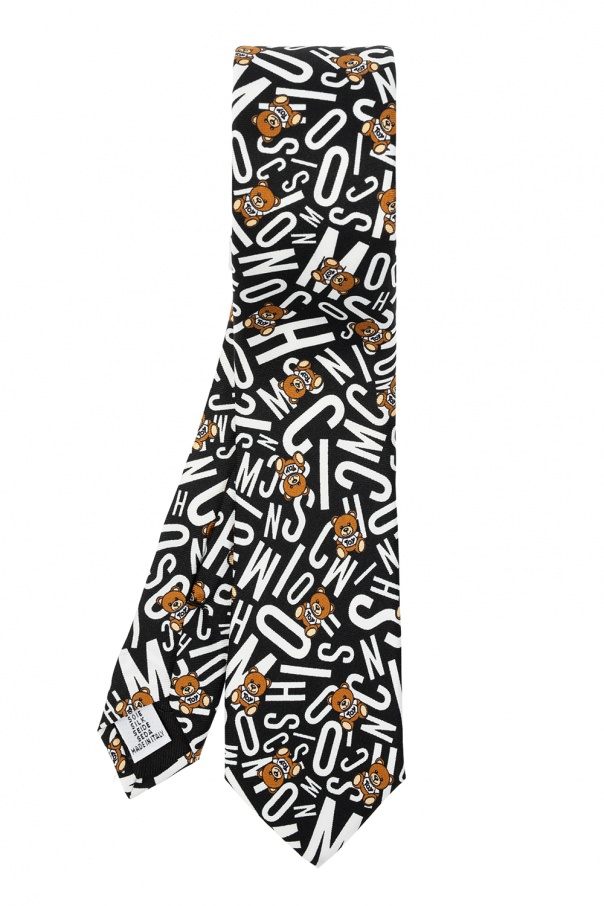 Moschino Tie with logo