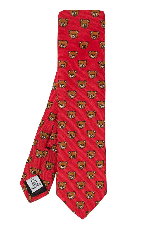 Moschino Teddy bear tie