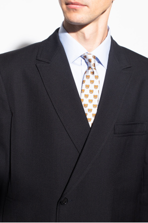 Patterned tie od Moschino