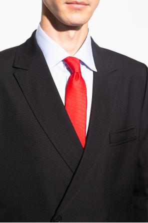 Tie with logo od Moschino