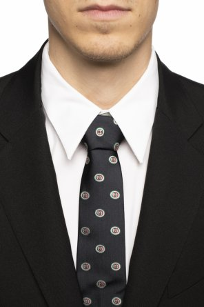 Patterned tie od Gucci