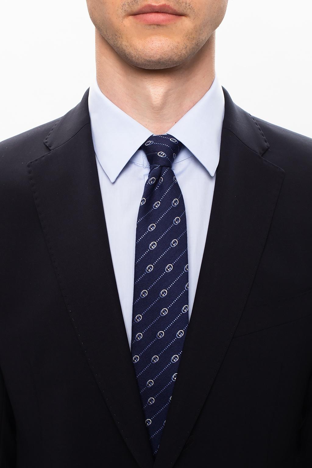 Gucci GG motif tie
