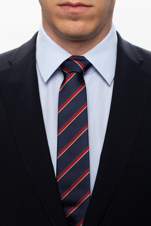 Gucci Silk tie with stripes