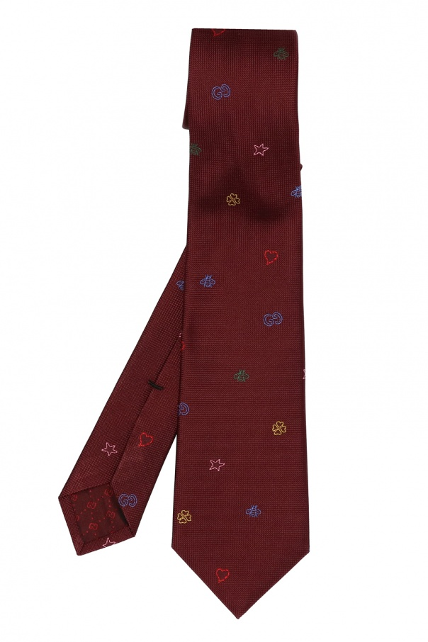 Gucci Patterned tie
