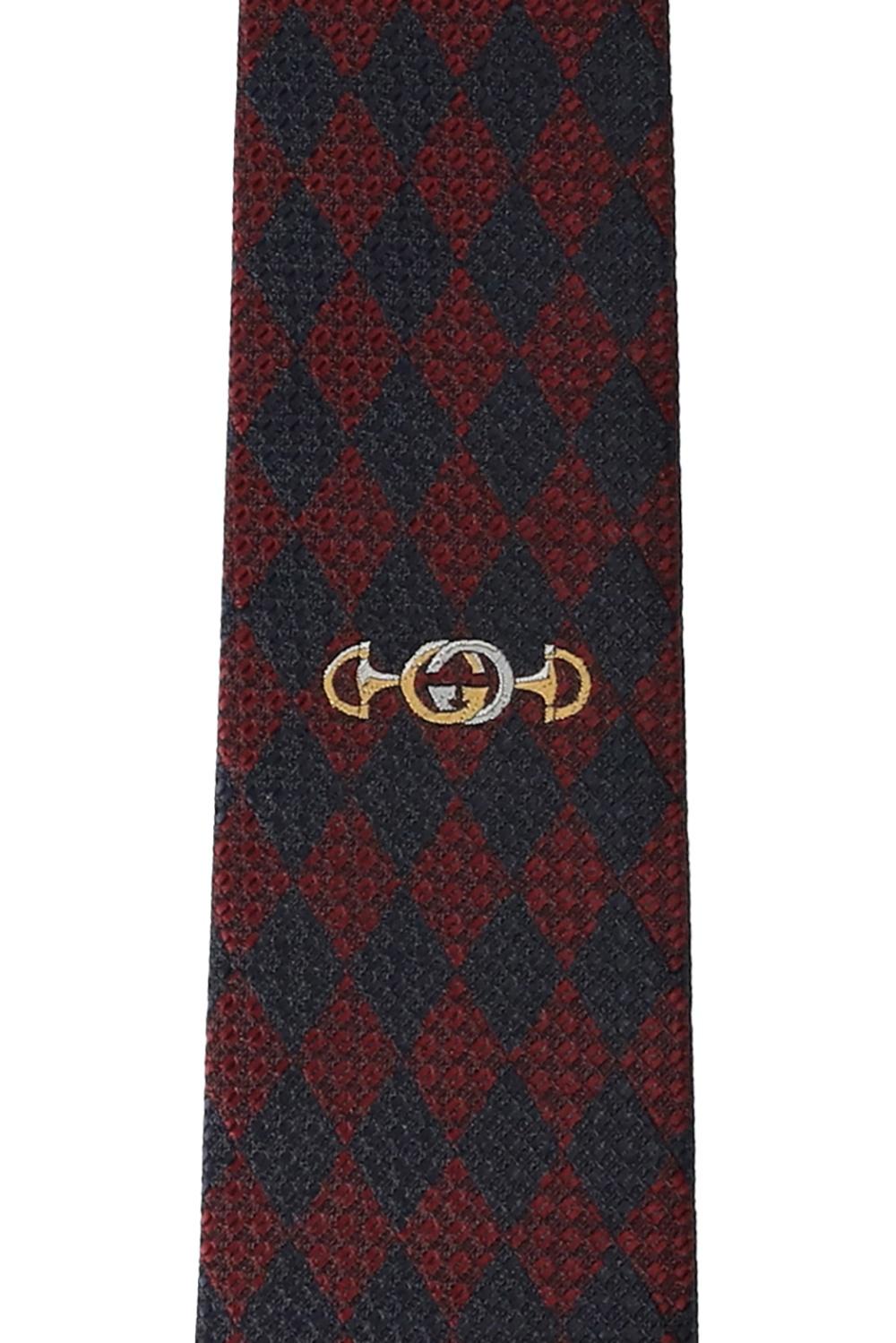 Gucci Jedwabny krawat