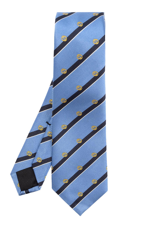 Gucci Silk tie with logo