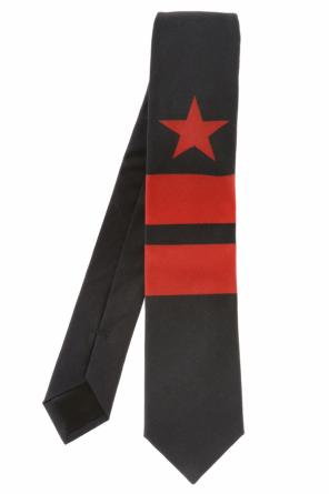 Star-patterned tie od Givenchy