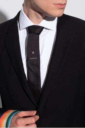 Silk tie with logo od Givenchy