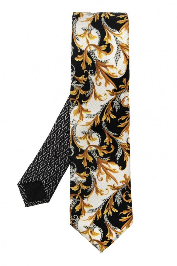 Versace Patterned tie