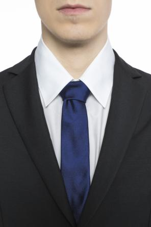 Medusa head-embroidered tie od Versace