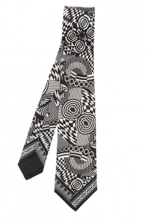 Patterned tie od Versace