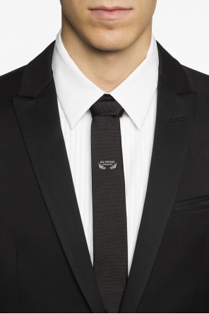 Logo-embroidered tie od Dsquared2