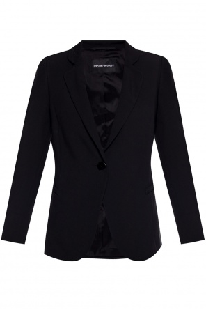 Notch lapel blazer od Emporio Armani