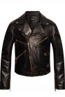 Versace Leather biker jacket