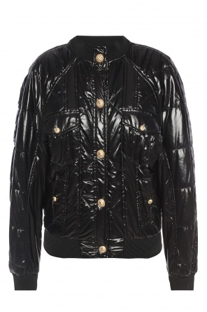Quilted bomber jacket od Balmain