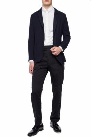 Blazer with embroidered pattern od Emporio Armani